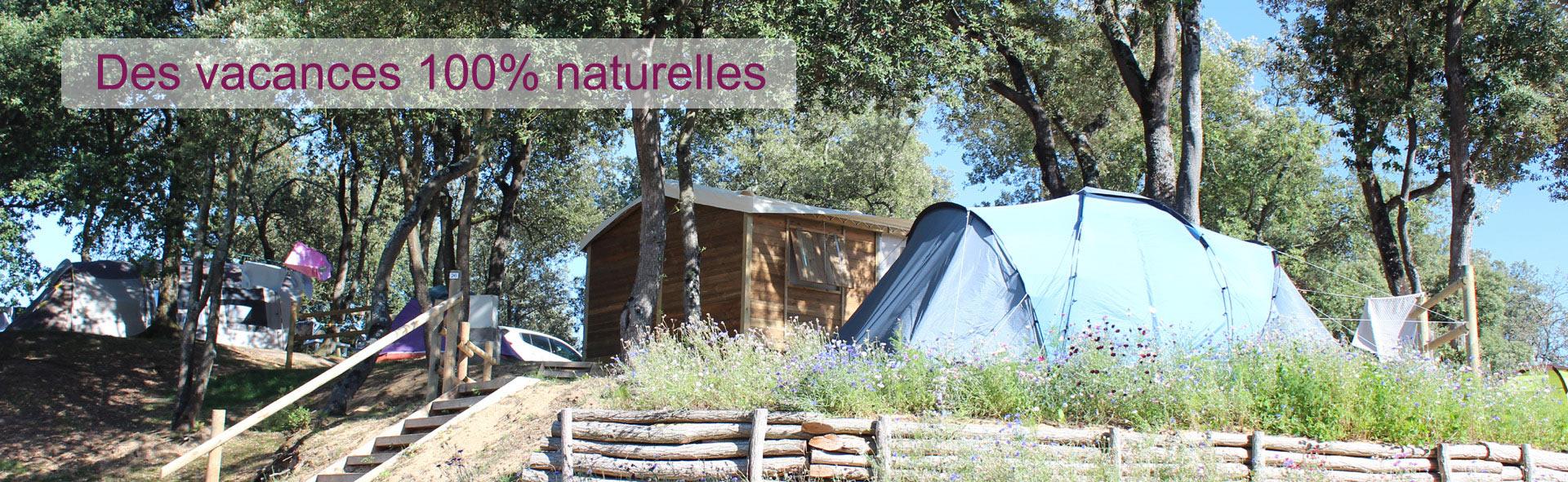 vacances nature camping