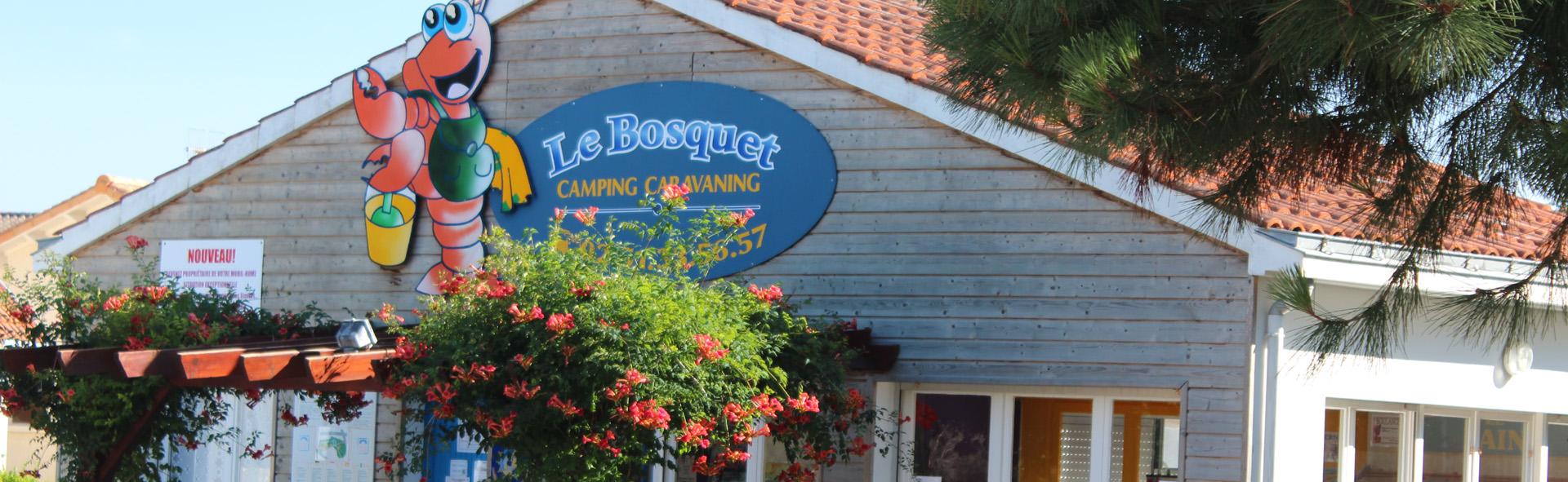 Le Bosquet camping à Jard sur mer