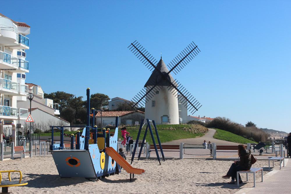 Les Jeux et le Moulin de Jard sur Mer
