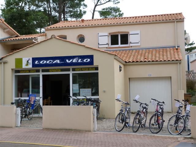 Location de  Vélo à Jard sur Mer en Vendée à côté du camping.