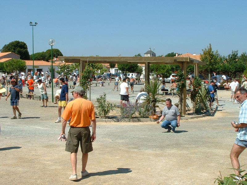 Boulodrome tournoi de pétanque à Jard sur Mer en Vendée