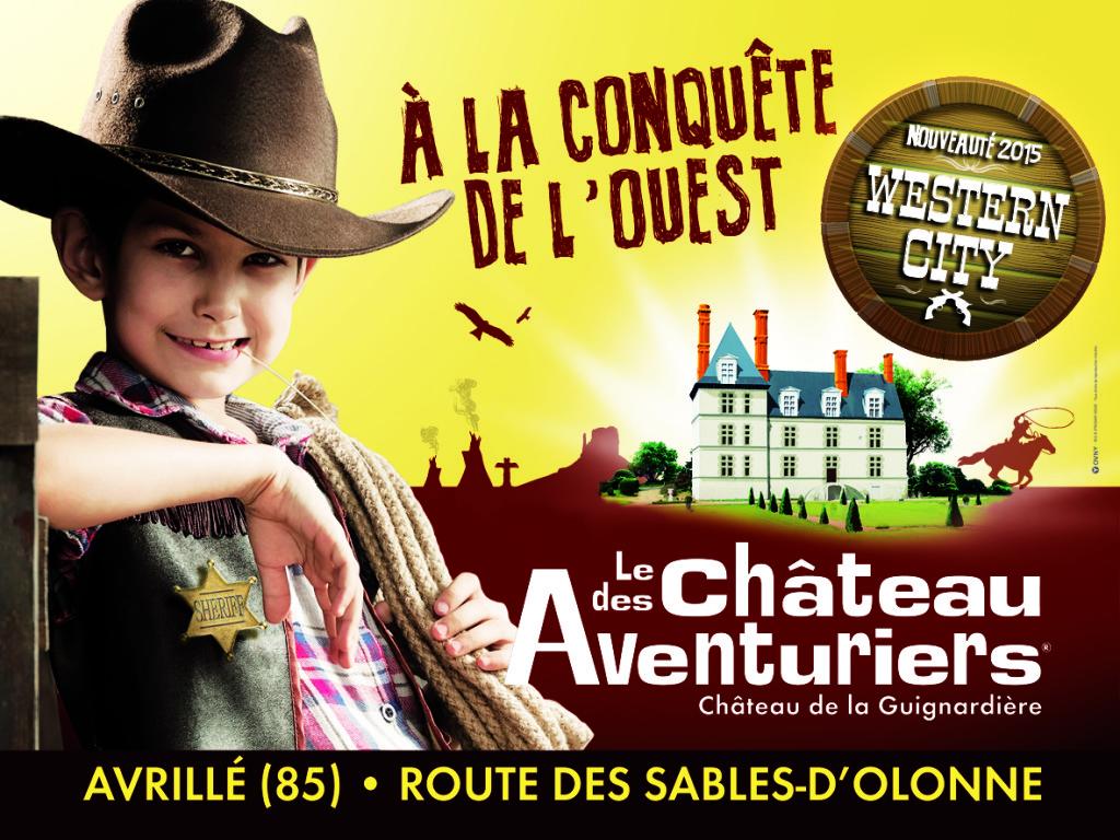 Chateau des Aventuriers pour les enfants et la famille proche du camping