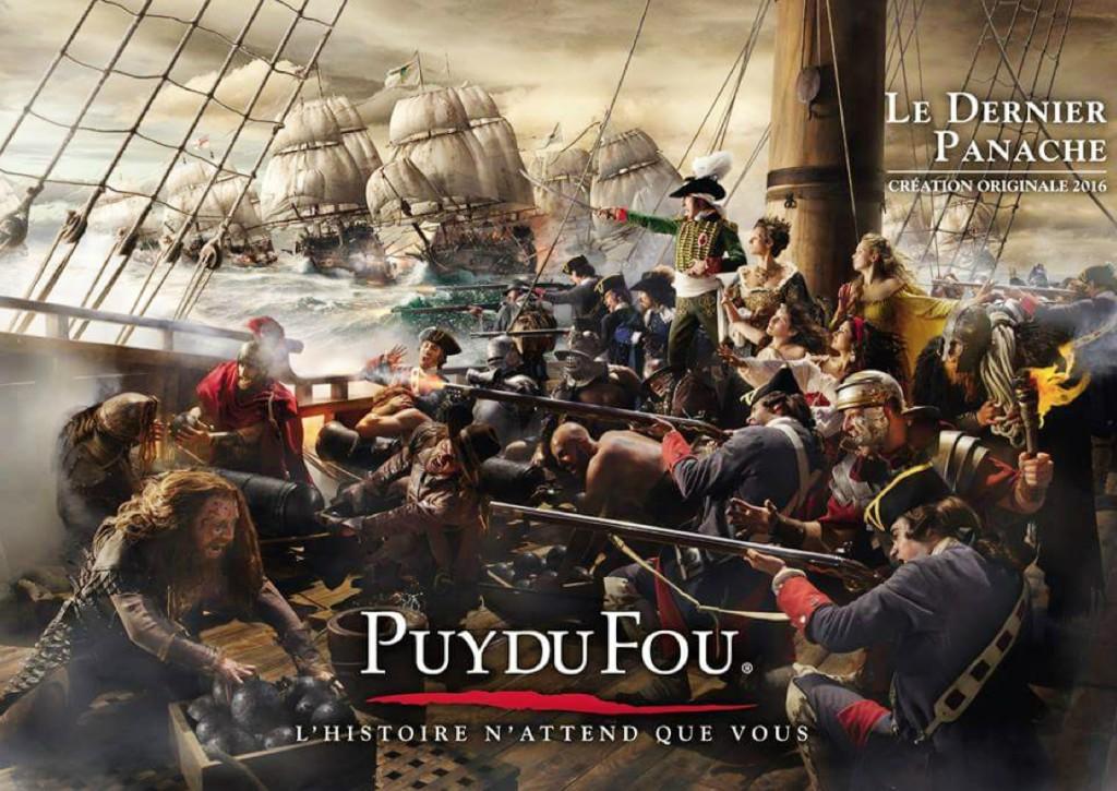 Les spectacles du Puy du Fou que vous pourrez admirer en séjournant au camping.