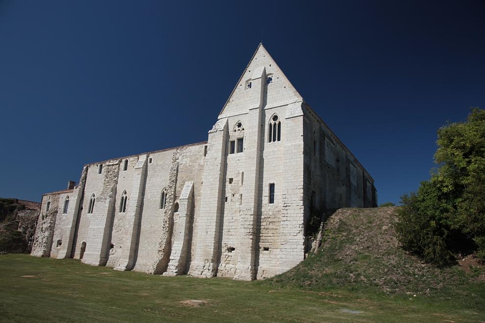 Les Abbayes du Marais Poitevin pas loin de notre camping.