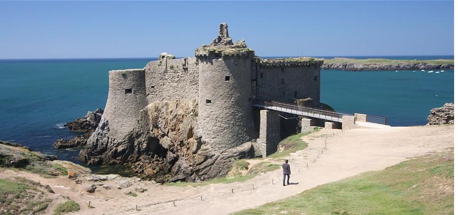 Vieux chateau sur l'Ile d'Yeu