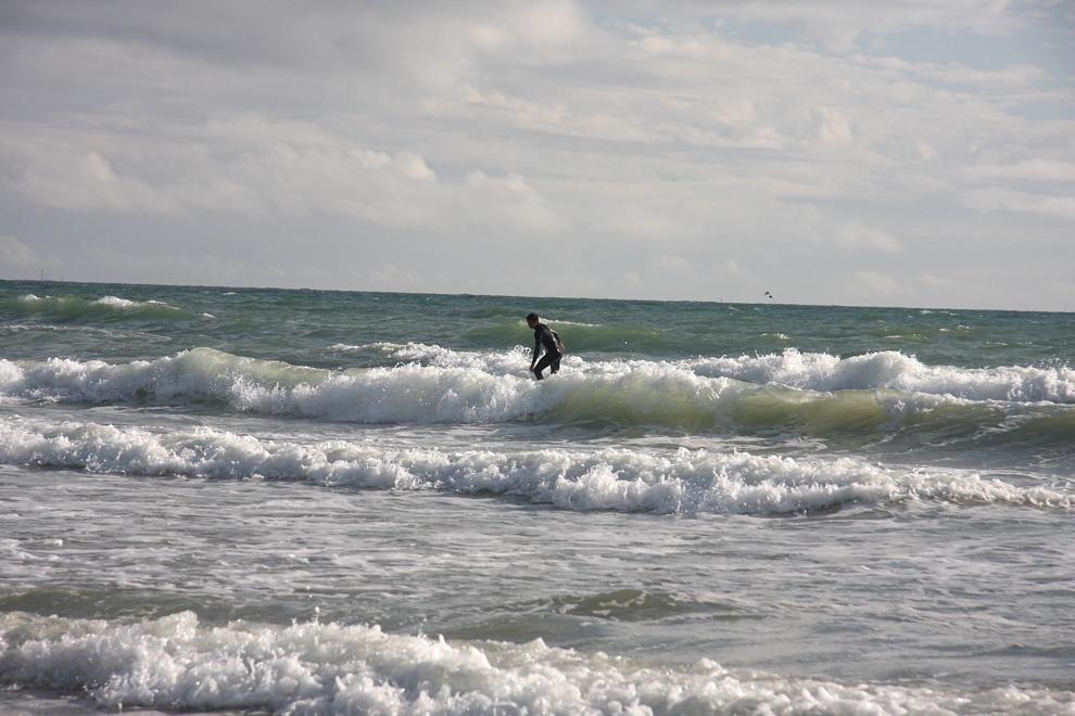 spot de surf à la Tranche sur Mer près du camping